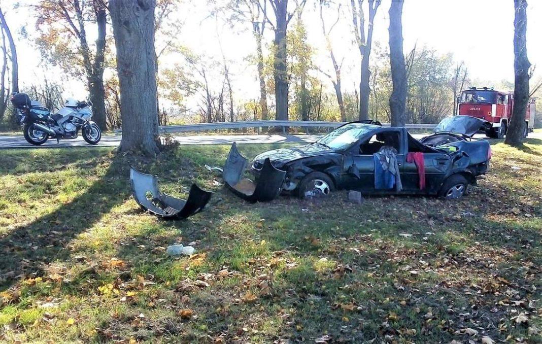Wypadek koło miejscowości Boćki