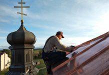 Boćki: remont dachu cerkwi