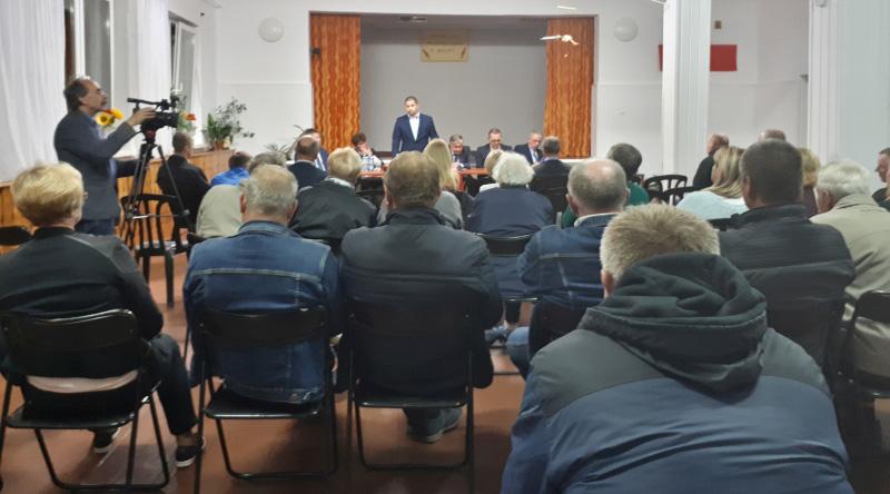 Spotkanie wyborcze kandydata PiS na wójta